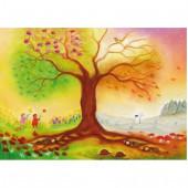 De vier seizoenen boom(Baukje Exler)
