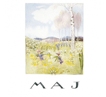 Postcard May (Elsa Beskow)