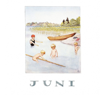 Postcard June (Elsa Beskow)