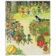 Postcard forest fruit children (Elsa Beskow)