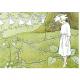 Postkaart bloemenmeisje (Elsa Beskow)