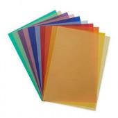 Transparanten papier, 11 kleuren van 50*65cm