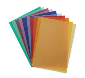 Extra strong transparant paper, 11 colours van 50*65cm