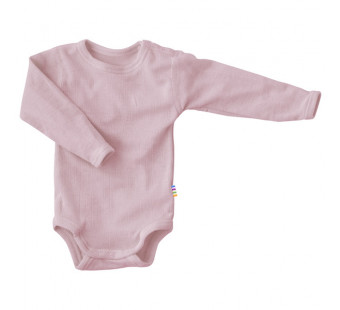 Joha merino woolen long sleeve body  old pink (62515)