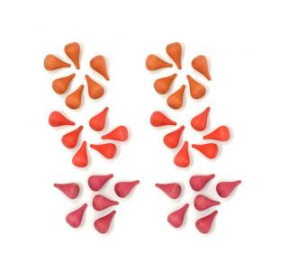 Grapat set mandala's mini vuur (18-199)