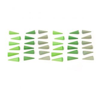 Grapat set mini mandala kegels groen (18-200)