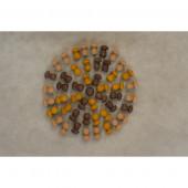 Grapat mini mandala set paddestoeltjes (18-202)