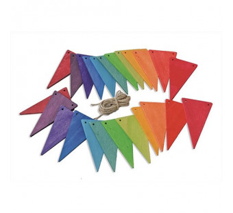 Grimms pennant banner, rainbowcolours (70245)