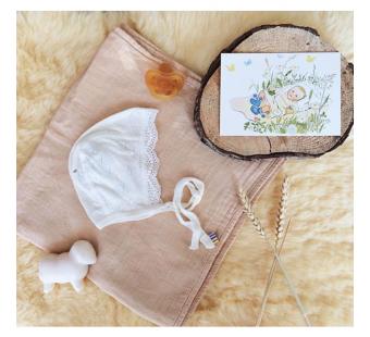 Postkaart Baby (Elsa Beskow)