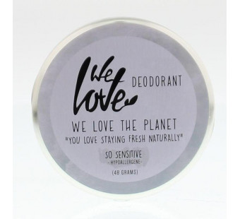 We love the planet So sensitive deodorant