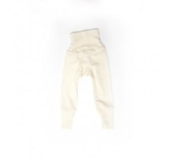 Cosilana babybroekje met boord naturel70% wol 30% zijde (71016)