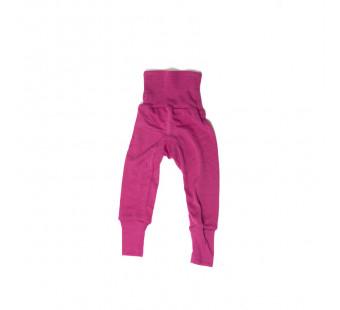 Cosilana babybroekje met boord roze 70% wol 30% zijde (71016)