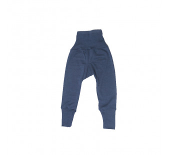 Cosilana pants long 70% wool en 30% silk navy blue (71016)