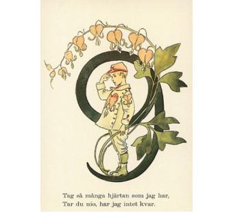 Postkaart 9 (Fem Adelborg)