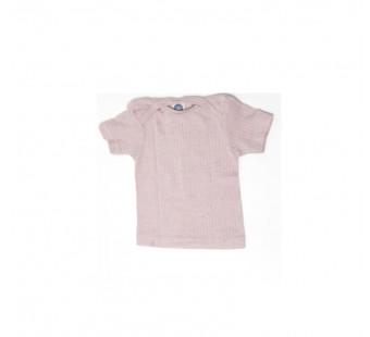 Cosilana tshirt korte mouw lichtroze wol/zijde/katoen (91032)
