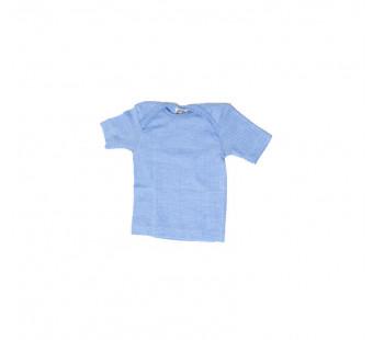 Cosilana tshirt korte mouw lichtblauw wol/zijde/katoen (91032)