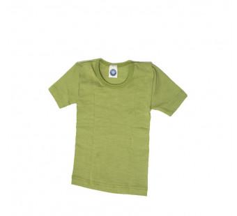 Cosilana tshirt wol zijde groen (71232)