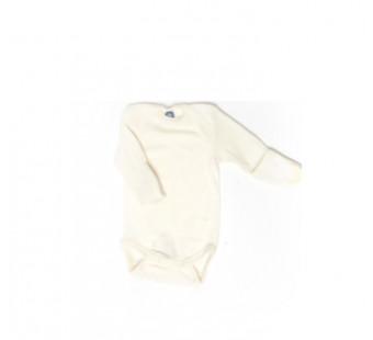 Cosilana romper wol/zijde naturel met krabwantjes (71058)