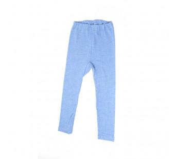 Cosilana legging katoen/wol/zijde blauw(91211)