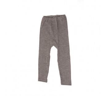 Cosilana legging katoen/wol/zijde bruin (91211)
