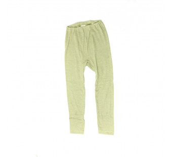 Cosilana leggingcotton/wool/silk green (91211)