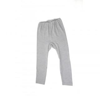 Cosilana legging katoen/wol/zijde grijs (91211)
