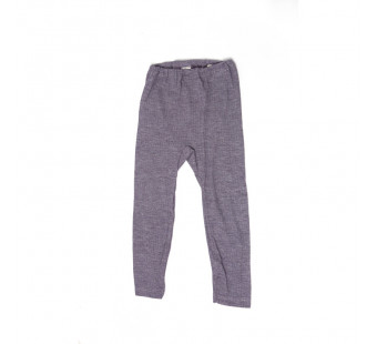 Cosilana leggings cotton/wool/silk purple (91211)