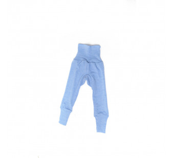 Cosilana pants cotton/wool/silk blue  (91016)