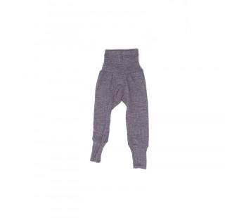 Cosilana pants cotton/wool/silk purple  (91016)