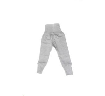 Cosilana broekje katoen/wol/zijde grijs (91016)
