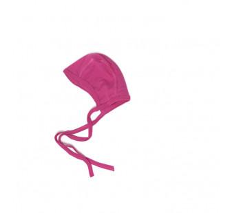 Cosilana baby bonnet 70% wool 30% silk pink (71090)