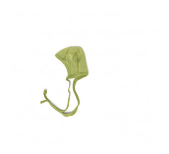 Cosilana baby bonnet 70% wool 30% silk green (71090)