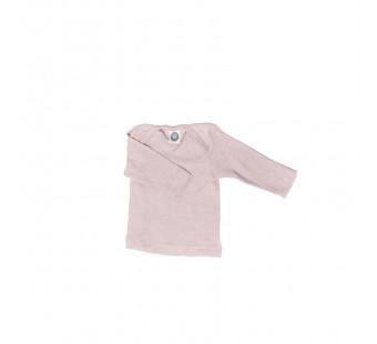 Cosilana tshirt lange mouw lichtroze wol/zijde/katoen (91033)
