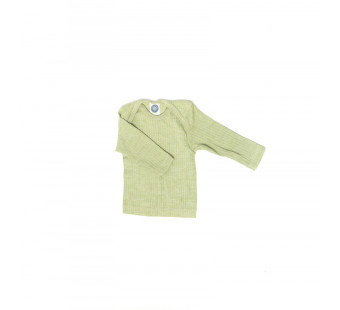 Cosilana longsleeve  cotton/wool/silk green (91032)