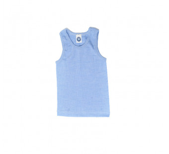 Cosilana sleeveless vest soft blue (91230)