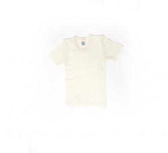 Cosilana tshirt katoen/wol/zijde naturel (91232)