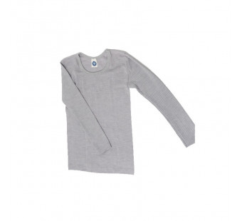 Cosilana longsleeve cotton/wool/silk grey (91233)