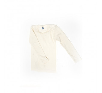 Cosilana longsleeve cotton/wool/silk natural(91233)