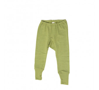 Cosilana pants long 70% wool en 30% silk green (71012)