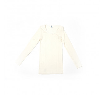 Cosilana longsleeve wol zijde wit (710433)