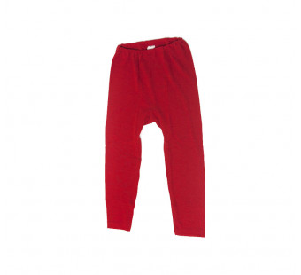 Cosilana leggings 70% wool 30% silk red (71212)