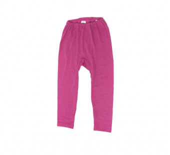 Cosilana leggings 70% wool 30% silk pink (71212)