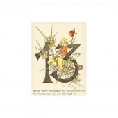 Postkaart 13 (Fem Adelborg)