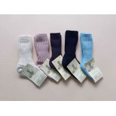 Grodo thick woolen socks natural