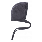 Reiff terry wool silk bonnet grey