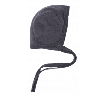 Reiff terry wool silk bonnet grey