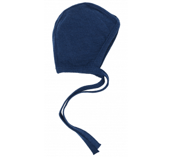 Reiff terry wool silk bonnet navy
