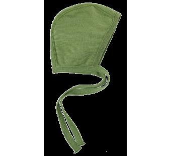 Reiff terry wool silk bonnet green