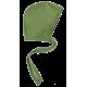 Reiff wolzijde terry strikmutsje groen
