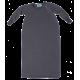 Reiff wol zijde slaapzak met mouwen van badstofstructuur (terry) grijs